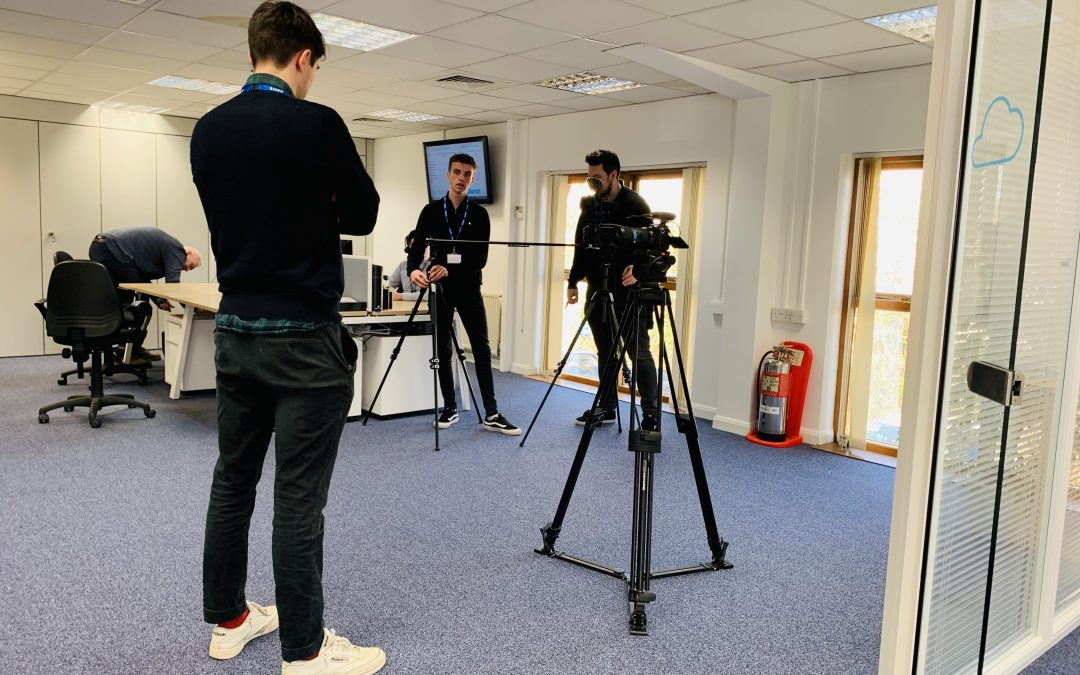 Filming day at Taurus HQ