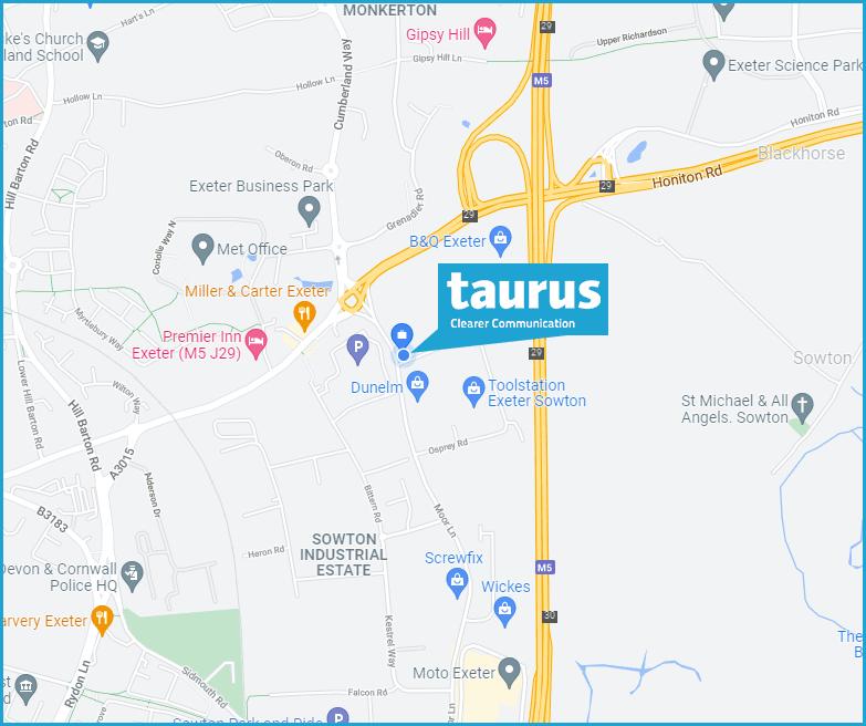 taurus office exeter 2021